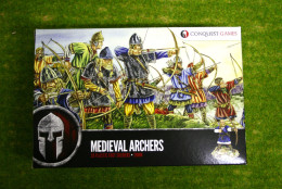 Conquest Games MEDIEVAL ARCHERS 28mm Plastic