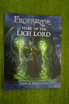 FROSTGRAVE – THAW OF THE LICH LORD Rule Book Supplement