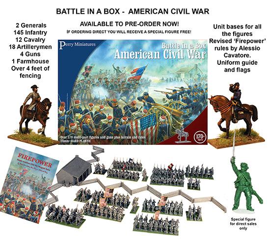 Perry Miniatures American Civil War Battle In A Box 28mm
