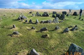 Stone circle on Dartmoor