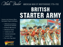 AMERICAN WAR OF INDEPENDENCE BRITISH ARMY Warlord Games Black Powder SD