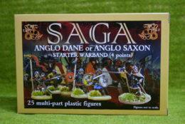 GBP08 PLASTIC SAXON STARTER 4 POINTS Gripping Beast Saga 28mm
