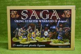 GBP07 PLASTIC VIKING STARTER 4 POINTS Gripping Beast Saga 28mm