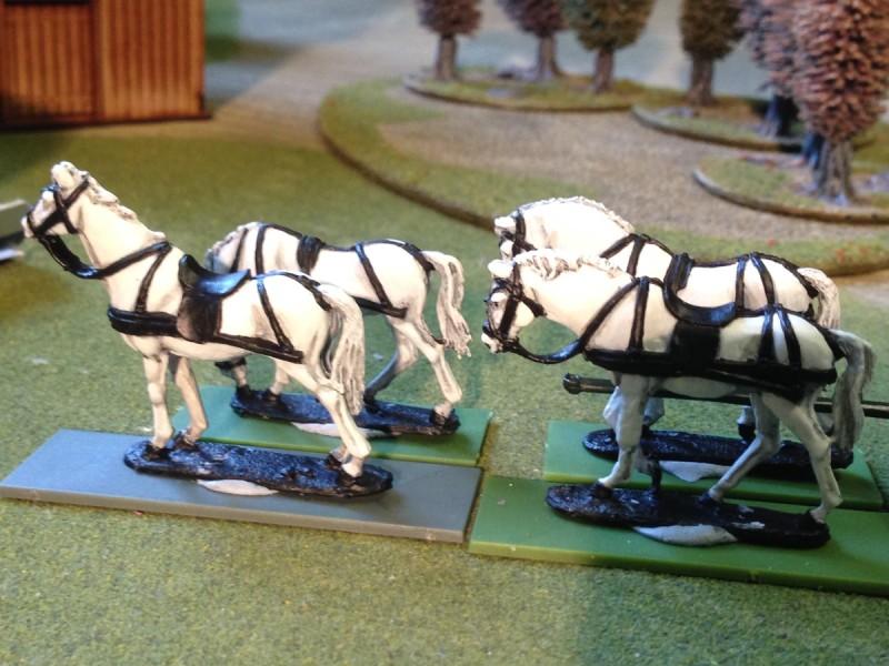 Horses for Napoleons Coach