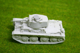 1/56 scale – 28mm WW2 GERMAN PANZER 38(t) resin tank Blitzkrieg miniatures