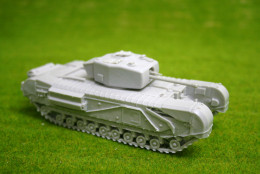 1/56 scale – 28mm WW2 CHURCHILL Mk4 resin tank from Blitzkrieg Miniatures