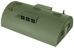 Roco Minitanks Nissen Shelter / Hut Extended 615 HO or 1/87th scale