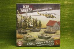 Flames of War POTECKNOV'S BEARS 2017 Team Yankee 15mm TSUAB2