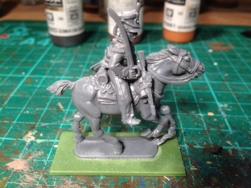 Light Dragoon assembled, ready for priming.