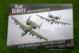 Team Yankee A-10 WARTHOG Fighter Flight Flames of War 15mm TUBX06