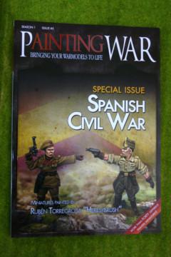 PAINTING WAR ISSUE #5 SPANISH CIVIL WAR BOOK/ MAGAZINE
