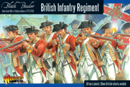 AWI BRITISH INFANTRY REGIMENT Warlord Games Black Powder SD