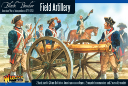 AWI FIELD ARTILLERY Warlord Games Black Powder SD