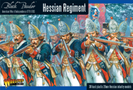 AWI HESSIAN REGIMENT Warlord Games Black Powder SD