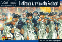 AWI CONTINENTAL INFANTRY REGIMENT Warlord Games Black Powder SD