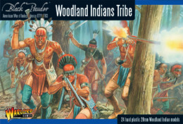 AWI WOODLAND INDIAN TRIBES Warlord Games Black Powder SD
