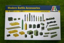Italeri MODERN BATTLE ACCESSORIES 1/35 scale kit 6423