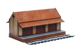 Railway Building Goods Shed Set R005