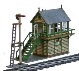 Railway Building Signal Box Set R016