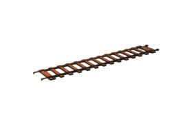 Railway Track Straight Pack (6) R020