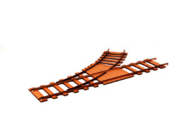 Railway Track Curve Point Pack (2) R022