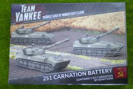 Team Yankee 2S1 Carnation Battery Flames of War 15mm TSBX07