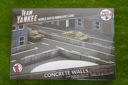 Team Yankee Concrete Walls Flames of War 15mm  BB191