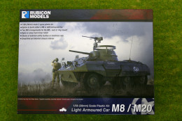 Rubicon Models M8 / M20 Armoured Car 1/56th scale 28mm RU019