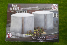 Team Yankee Oil Tanks Flames of War 15mm BB190