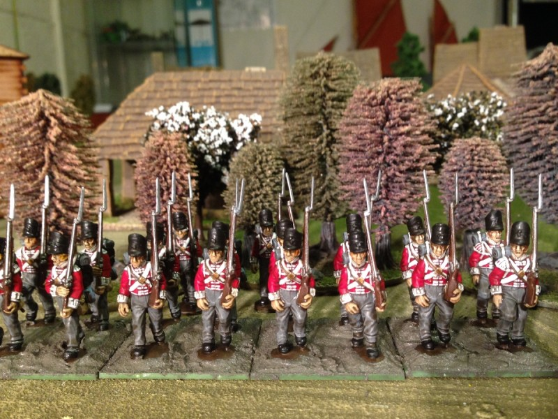 The 32nd foot on their bases!