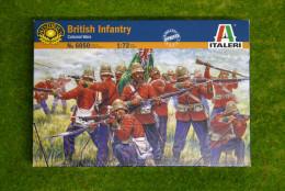 British Infantry Colonial and Zulu wars 1/72 Italeri set 6050