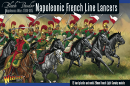 FRENCH LINE LANCERS Warlord Games Black Powder Napoleonics