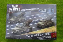 Team Yankee BM-21 Hail Battery Flames of War 15mm TSBX08