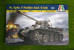 Pz. Kpfw.V Panther Ausf. G Late 1/35 Scale Italeri 6534