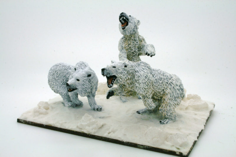 The finished Snow Bears