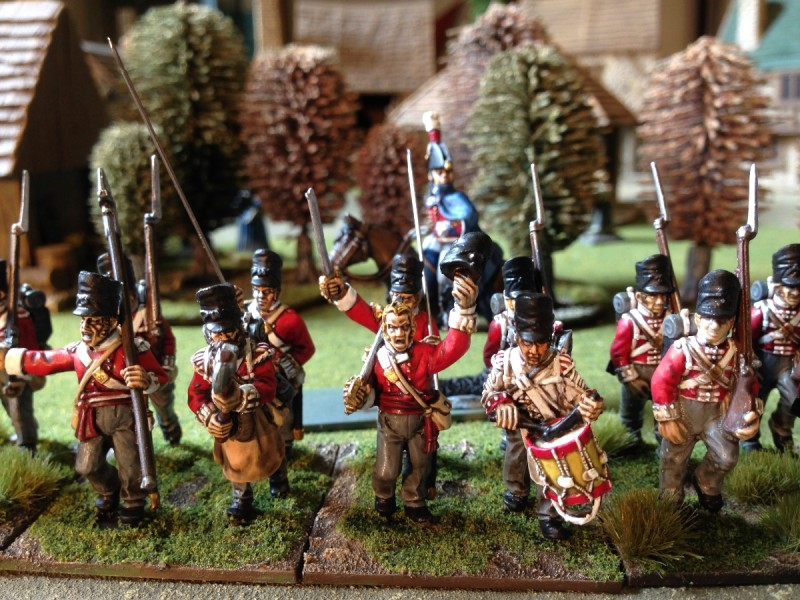 Command group for the 32nd Regiment