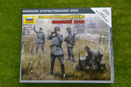 Zvezda GERMAN HEADQUARTERS 1939-1942 1/72 scale 6133