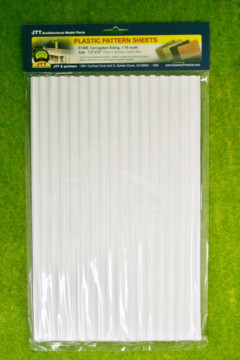 CORRUGATED SIDING PACK OF 2 SHEETS 1:16 scale LS97406
