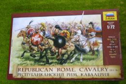 REPUBLICAN ROME CAVALRY 1/72 Zvezda 8038