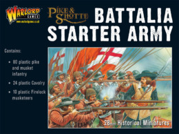 PIKE & SHOTTE STARTER BATTALIA Starter Army Warlord Games SD