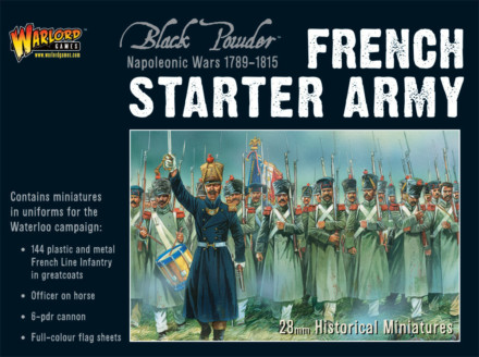 NAPOLEONIC FRENCH STARTER ARMY Warlord Games Black Powder SD