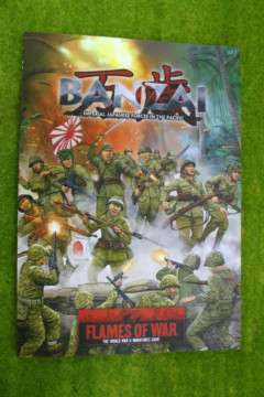 Flames of war BANZAI! Imperial Japanese Forces in the Pacific Supplement