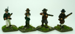 Trent Miniatures CHOUANS/VENDEANS with Muskets  FCHOU04