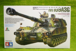 Tamiya GERMAN BUNDESWEHR M109A3G 1/35 Scale  Kit 37022