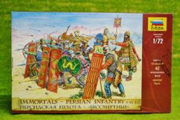 IMMORTALS PERSIAN INFANTRY V – IV BC 1:72 Scale Zvezda 8006