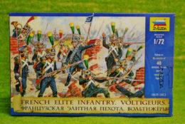 French Elite Infantry Voltigeurs 1805-1813 1/72 Zvezda 8042