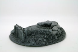 BZFS2 JAVIS Battle Zone Small Fox hole 2 resin scenery