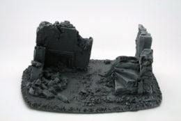 BZB14 JAVIS Battle Zone Derelict Building type 14 resin scenery
