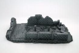 BZB15 JAVIS Battle Zone Derelict Building type 15 resin scenery
