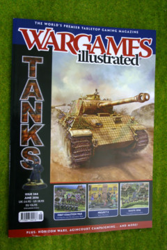 WARGAMES ILLUSTRATED ISSUE 344 June 2016 MAGAZINE